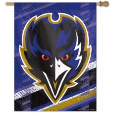 "Baltimore Ravens 2nd Design Vertical Flag 27"" X 37"""