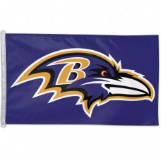 Baltimore Ravens Logo Flag 3' X 5'