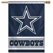 "Dallas Cowboys Vertical Flag 28"" X 40"""