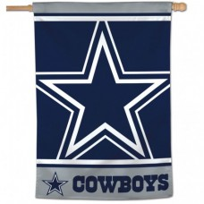 "Dallas Cowboys Mega Logo Vertical Flag 28"" X 40"""
