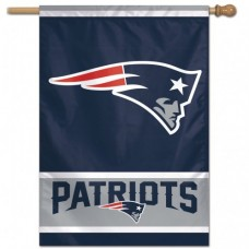 "New England Patriots Vertical Flag 28"" X 40"""
