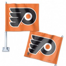 "Philadelphia Flyers Car Flag 11.75"" X 14"""