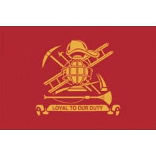 Fire Fighters 3'x5' Flag