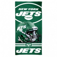 "New York Jets Spectra Beach Towel 30"" X 60"""