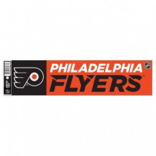 "Philadelphia Flyers Bumper Strip 3"" X 12"""