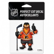 "Philadelphia Flyers Mascot Perfect Cut Color Decal 4"" X 4"""