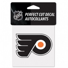 "Philadelphia Flyers Perfect Cut Color Decal 4"" X 4"""
