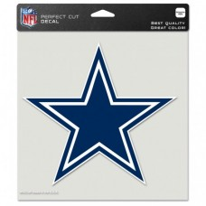 "Dallas Cowboys Perfect Cut Color Decal 8"" X 8"""