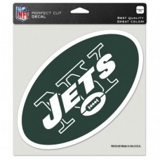 "New York Jets Perfect Cut Color Decal 8"" X 8"""