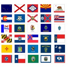 State Flags ft SolarGuard Nyl-Glo Flag