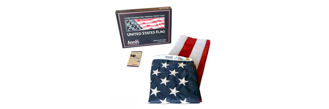 American Flag ft. SolarGuard Nyl-Glo Flag by Annin Flagmakers
